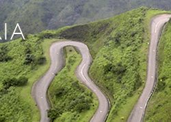Nigeria winding road